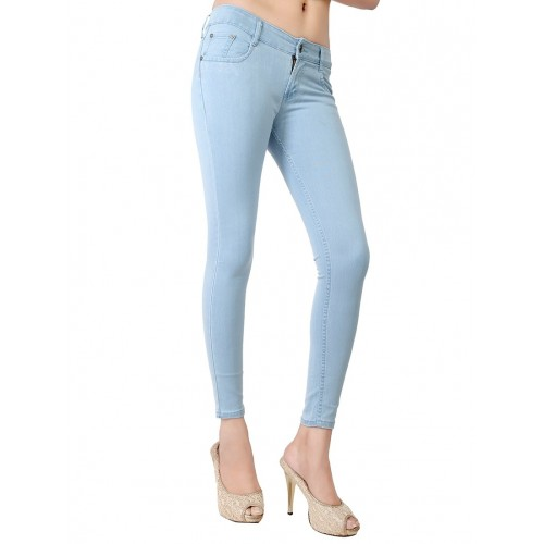 Obeo light blue denim skinny jeans