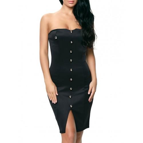 Kaamastra black tube dress