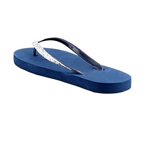DARLING DEALS Attractive Flip Flops Blue