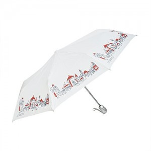 Asera 3 Fold Automatic Open and Close Beautiful design Umbrella