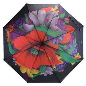 Asera 3 Fold Automatic Open Umbrella Designer Collection for Girls Ladies Boys Gents