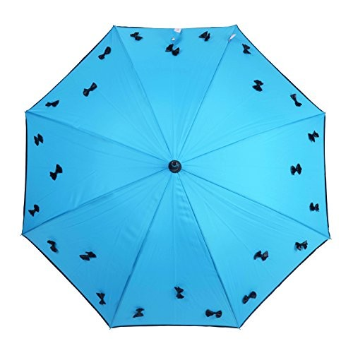 MURANO Sky Blue Stick Umbrella (400167_C)
