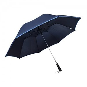 MURANO Blue Folding Umbrella (400141_3)
