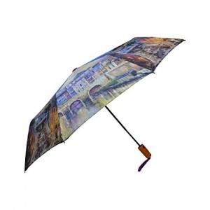 MURANO Multi-Colour Folding Umbrella (400084_D)