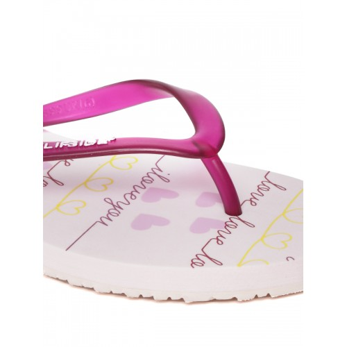 Flipside Women Pink Printed Flip-Flops