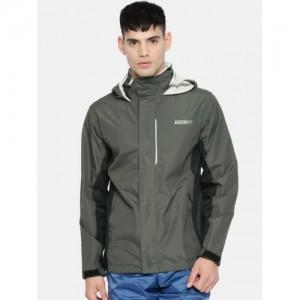 Wildcraft Charcoal Grey Waterproof Rain Jacket
