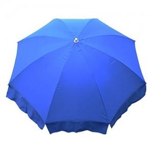Fendo Single Fold 36 Inche Blue Color Outdoor Garden Umbrella