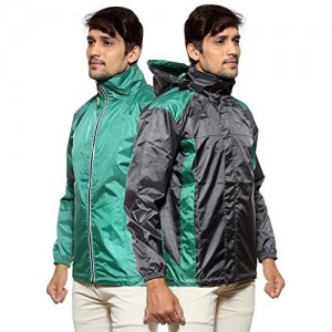 Sports 52 Wear Men's Polyester Rain Jacket