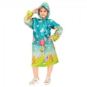Goodluck Girls Full Sleeve Raincoat