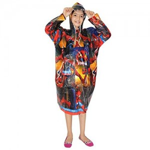 Goodluck Girls and Boys Full Sleeve Raincoat