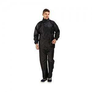Goodluck Premium Plain Unisex Raincoat/ Rainwear/ Rainsuit