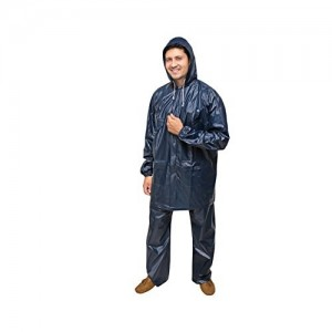 Goodluck Mens PVC Raincoat/Rainwear