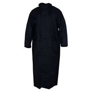 Krystle Men's Blue Overcoat|Raincoat