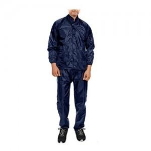 Krystle Men Navy Blue Rainsuit (Pack of 1)