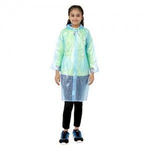 Finery Self Design Boy's And Girls Raincoat