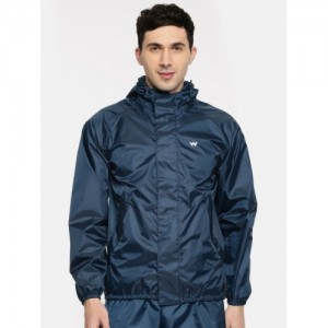 Wildcraft Navy Blue WaterProof Rain Jacket