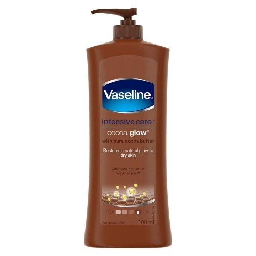 Vaseline Intensive Care Cocoa Glow Body Lotion,300 ml