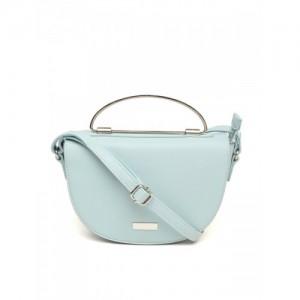 DressBerry Blue Solid Sling Bag