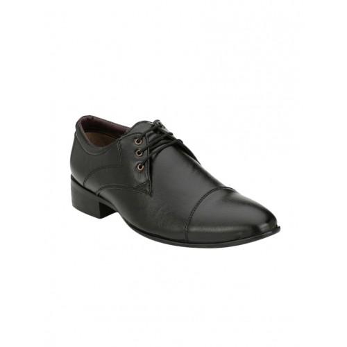 624709768c3 Home · Men · FootWear · Formal Shoes. wonker black leatherette lace-up  derby  wonker black leatherette lace-up derby ...
