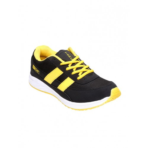 Tomcat black leatherette sport shoe