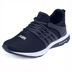 Maddy Men's Black Blue Sports Running Shoes