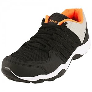 "Maddy Men""s New Black Orange Sports Running Shoes In Various Sizes"