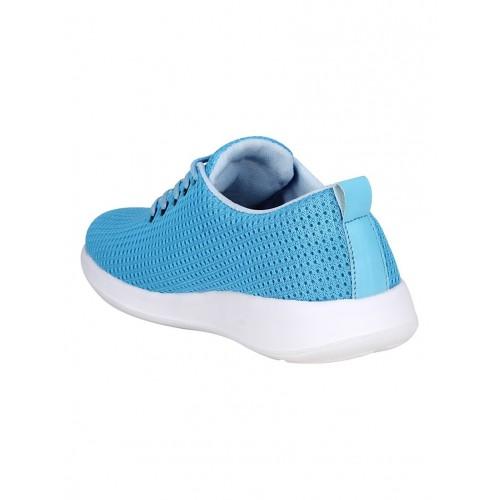 Bachini light blue Mesh sport shoe