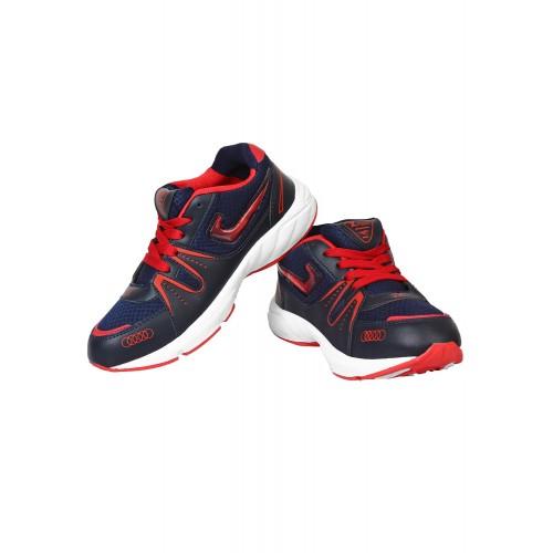 Bersache navy Mesh sport shoe