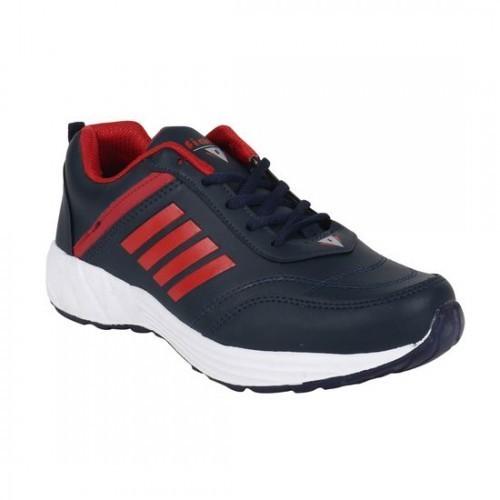 Fiara navy leatherette sport shoe