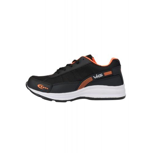 Vios black Mesh sport shoe