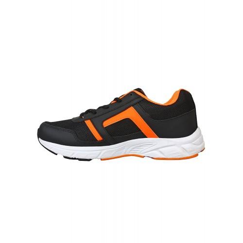 Aero black Mesh sport shoe