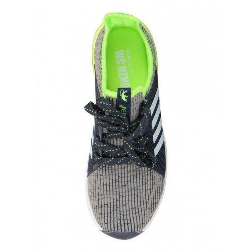 Vandeu grey Mesh sport shoe