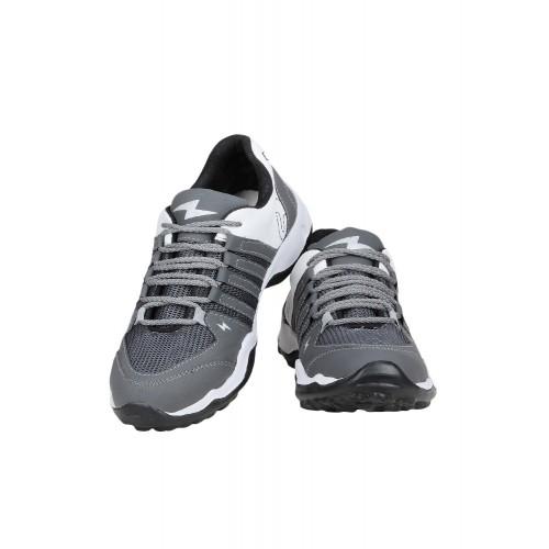 Shoe Island grey Mesh sport shoe