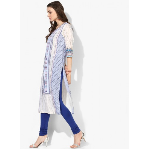 Aurelia Multicoloured Printed Kurta