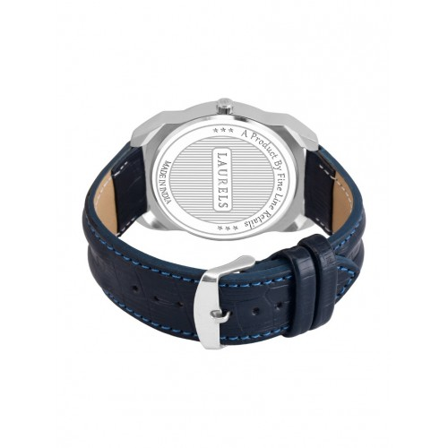 Laurels Ballade  Day Date  Blue Dial Men's  Wrist Watch- LMW-BD-030307