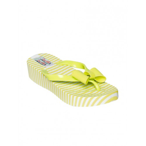 ZACHHO green rubber flip flop