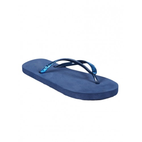 Anand Archies blue rubber  flip flops