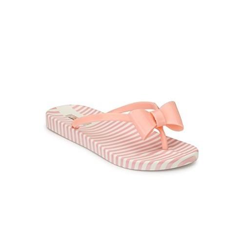 ZACHHO pink rubber flip flop