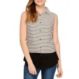 ef447b19c Women s Western Wear from Rigo On Limeroad (14 items). RIGO white   black  rayon striped shirt
