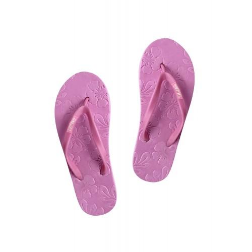 Firemark pink rubber flip flop
