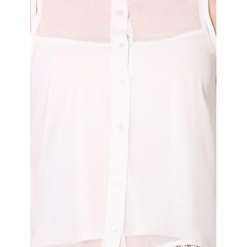 oxolloxo white polyester shirt