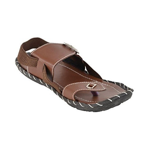 Butchi Men's Brown Slip On Sandal