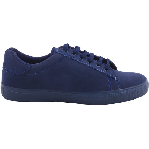 Butchi Classic Blue Suede Stylish Casual Shoe For Men