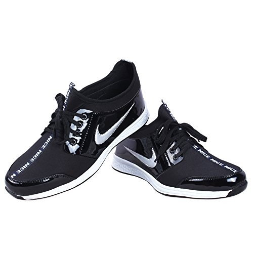 Butchi Men's Stylish Classic Electric Patent Sport Shoe