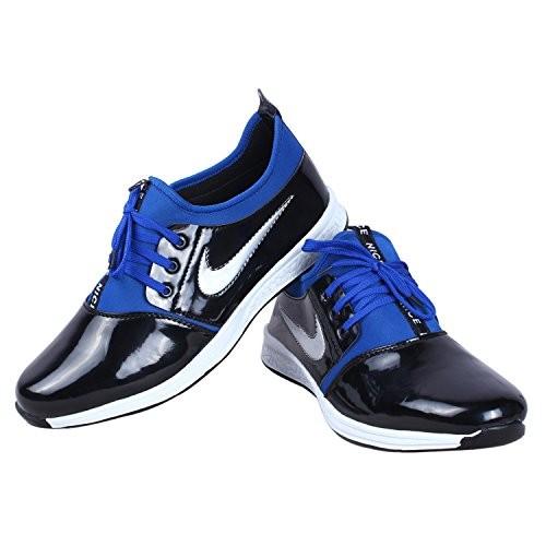 Butchi Men's Stylish Classic Electric Patent Sport Shoe