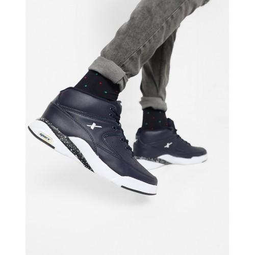 3cbb5789d7 Buy Sparx Men Cobalt Blue White Casual Shoes (SM-285) online ...