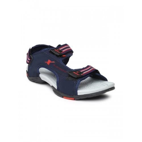 fd19ba4756d Buy Sparx Men Blue Sports Sandals online