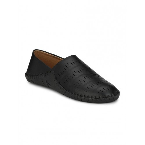 Big Fox black casual slip-on Shoes
