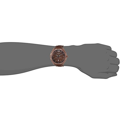 Timex Analog Brown Dial Men's Watch-TW000U936