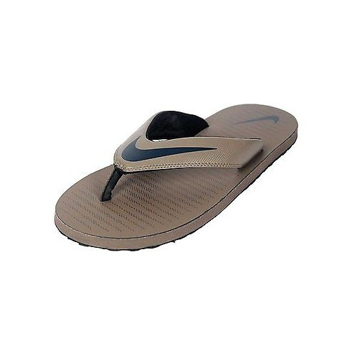 78e7d3ff0912 ... Nike Brand Mens thong 5 Brown Navy Casual V-Shape Slipper   Flip Flops  ...